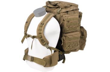 Tactical Assault Gear Jumpable Recon Ruck Pack Coyote Tan 813296