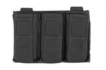 4-Tactical Assault Gear MOLLE Enhanced Pistol Mag (3) Pouch