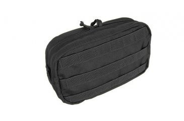 Tactical Assault Gear MOLLE Utility Horizontal Pouch, Black 811980