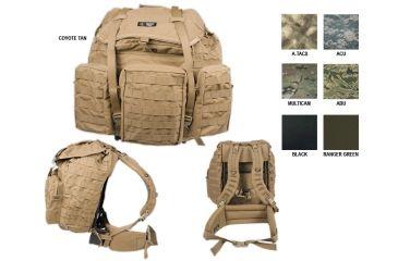 2-Tactical Assault Gear Mountain Ruck LG MOLLE Pack