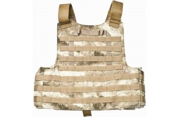 TAG Rampage Armor Plate Carrier Vest, Small/Medium, Multicam 812382