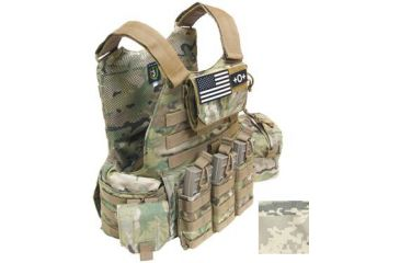TAG Rampage Armor Plate Carrier Vest, Large/Extra Large, ABU 814928