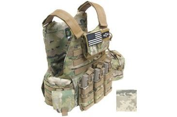 TAG Rampage Armor Plate Carrier Vest, Small/Medium, ABU 814925