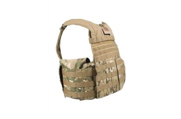 Tactical Assault Gear Rampage Releasable Armor Carrier, Small/Medium, Multicam 812453