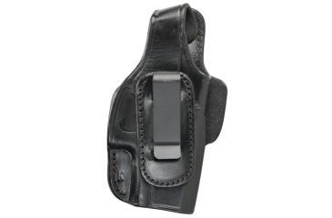 Tagua Gunleather Four In One Holster With Thumb Break For Ruger LC9 With Crimson Trace Laser Right Hand Black