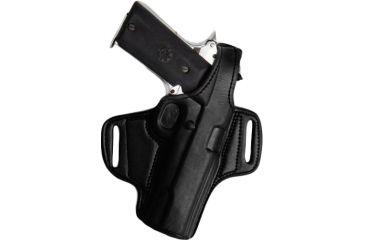 Tagua Gunleather Mini Thumb Break Leather Belt Holster For Glock 192332 Right Hand Black
