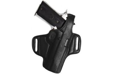 Tagua Gunleather Mini Thumb Break Leather Belt Holster For Springfield Xd 409mm Right Hand Black
