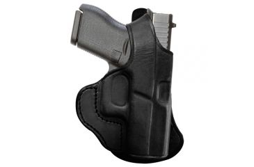 Tagua Gunleather Thumb Break Paddle Holster For Smith & Wesson J Frame  2 125 Inch Right Hand Black PD1R-710