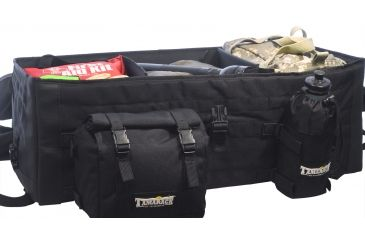 Tamarack Titan Black Rifle Bag Open TS-RBB