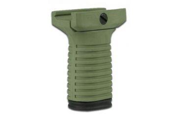 Tapco Intrafuse Vertical Grip, Short, Olive Drab STK90202 OLIVE DRAB