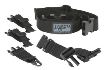 Tapco Universal Sling Military Grade Nylon and Buckles Black SLG9001B