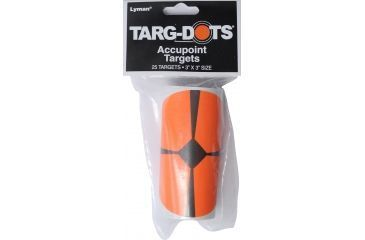 TargDots Instant Targets, 3 Accupoint, 25 Per Pack - 4026780