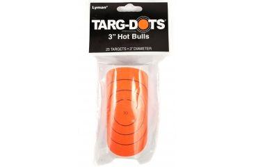 TargDots Instant Targets Hot Bull's Eye 3 25 Pack 4026950