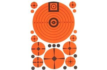 TargDots Match Assortment Target Sheets, 7x10in, 10 Sheets 4026880