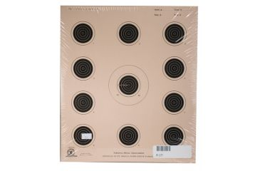 Target Barn A-17 Conventional Paper Targets 11 Per Sheet 100 Sheets Per Pack