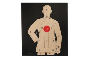 b 21 police shooting targets  Target Barn B-21 Reversed Police