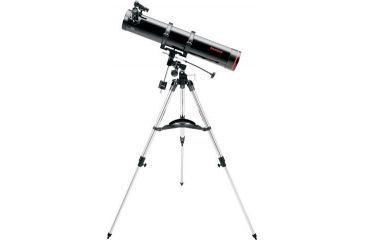 Tasco 114x900 Space Station Black Reflector EQ Red Dot Telescope, 49114900
