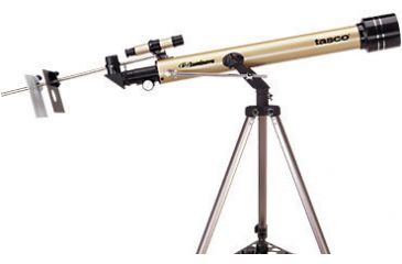 Tasco 660x60mm Luminova Refractor Telescope 40060660 800mm focal length