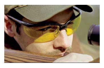 Tasco Shooting Glasses in use