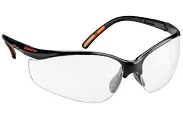 Tasco Clear Dual Lens Shooting Glasses, ANSI Z87.1 Safety Glasses w/ Earplugs, Case World Class SGLDLCD 60% OFF