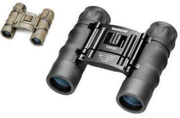 Tasco 10x25 Essential Binoculars, Black or Brown Camo