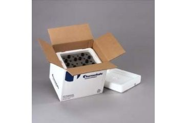 Tegrant Thermosafe ThermoSafe Foam Vial Shippers, ThermoSafe Brands 490-C24 Shippers For 16-20 Mm Vials 48-Vial Shipper