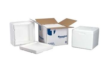 Tegrant Thermosafe ThermoSafe Insulated Shippers, Expanded Polystyrene, ThermoSafe Brands 321UPS Assembled Foam Unit In Corrugated Carton