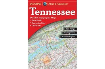 Tennessee Atlas, Publisher - Delorme