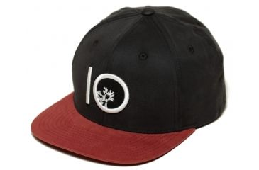 c97337e354f Tentree Classic Snap Hat - Unisex-Black Red Clay-One Size
