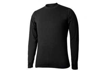 Terramar Thermolator Mens Crew Blk Md W7543-010 MD
