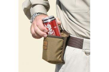 Texas Hunt Co Beverage Holster for Belt (Coke not included)