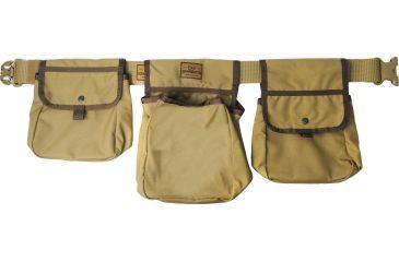 Texas Hunt Co Wing Shooter Bag with Belt, CYB Coyote Brown 200260111