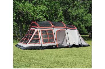 Texsport Big Horn Three-Room Family Cabin Tent TX01404