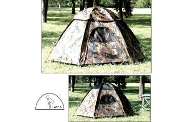 Texsport Camouflage Hexagon Dome Tent 01113TEX