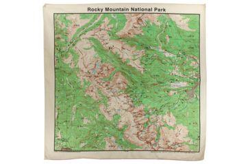 The Printed Image Rocky Mountain Topo Bandana 524