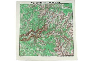 The Printed Image Yosemite Topo Bandana 518