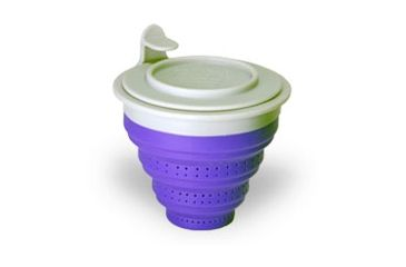 The Tea Spot Tuffy Steeper with Collapsible Filter, Purple 735064