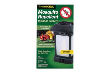 Thermacell Outdoor Lantern Eight LED Lights Operates On Four AA Batteries