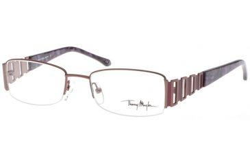 Thierry Mugler 3630 Eyewear Frame, C3 Brown-Purple