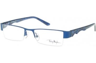 Thierry Mugler 9238 RX Single Vision Eyeglasses with C6 Navy Frame 9238-C6
