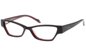 Thierry Mugler 9300 Black-Plum Frame Womens Eyeglasses, 52-15-135 9300-C2