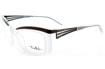 Thierry Mugler 9312 Milk-Brown Frame Womens Eyeglasses, 50-18-135 9312-C2