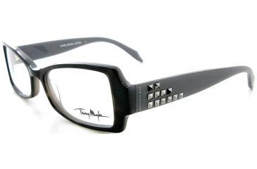 b8f6e3f8a68a Thierry Mugler 9316 Black-Grey Frame Womens Eyeglasses, 51-16-135 9316