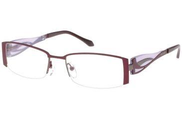 Thierry Mugler Bi Focal Eyeglasses 30012 Plum-Lavender Frame, Women, 52-18-135 30012-C1BF