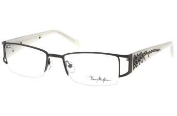 Thierry Mugler Bi Focal Eyeglasses 9302 Black-Cream Frame, Women, 50-18-135 9302-C4BF