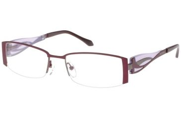 Thierry Mugler Single Vision Prescription Eyeglasses 30012 Plum-Lavender Frame, Women, 52-18-135 30012-C1RX
