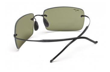 Maui Jim Thousand Peaks Sunglasses w/ Gloss Black Frame and Maui HT Lenses - HT517-02, Back View