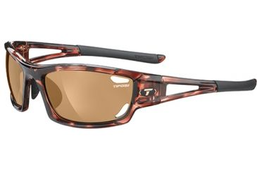 Tifosi Optics Dolomite 2.0 w/ AC Red, Brown, Clear Lenses, Tortoise Frame 1020101002