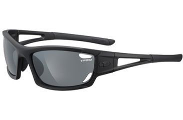 Tifosi Optics Dolomite 2.0 w/ AC Red, Clear, Smoke Lenses, Matte Black Frame 1020100101