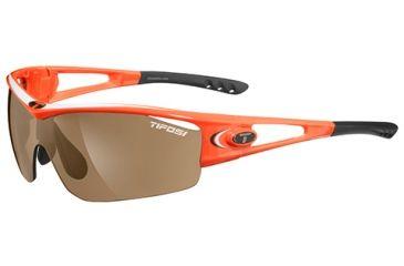 Tifosi Optics Logic w/ AC Red, Brown, Clear Lenses, Neon Orange Frame 0050105702